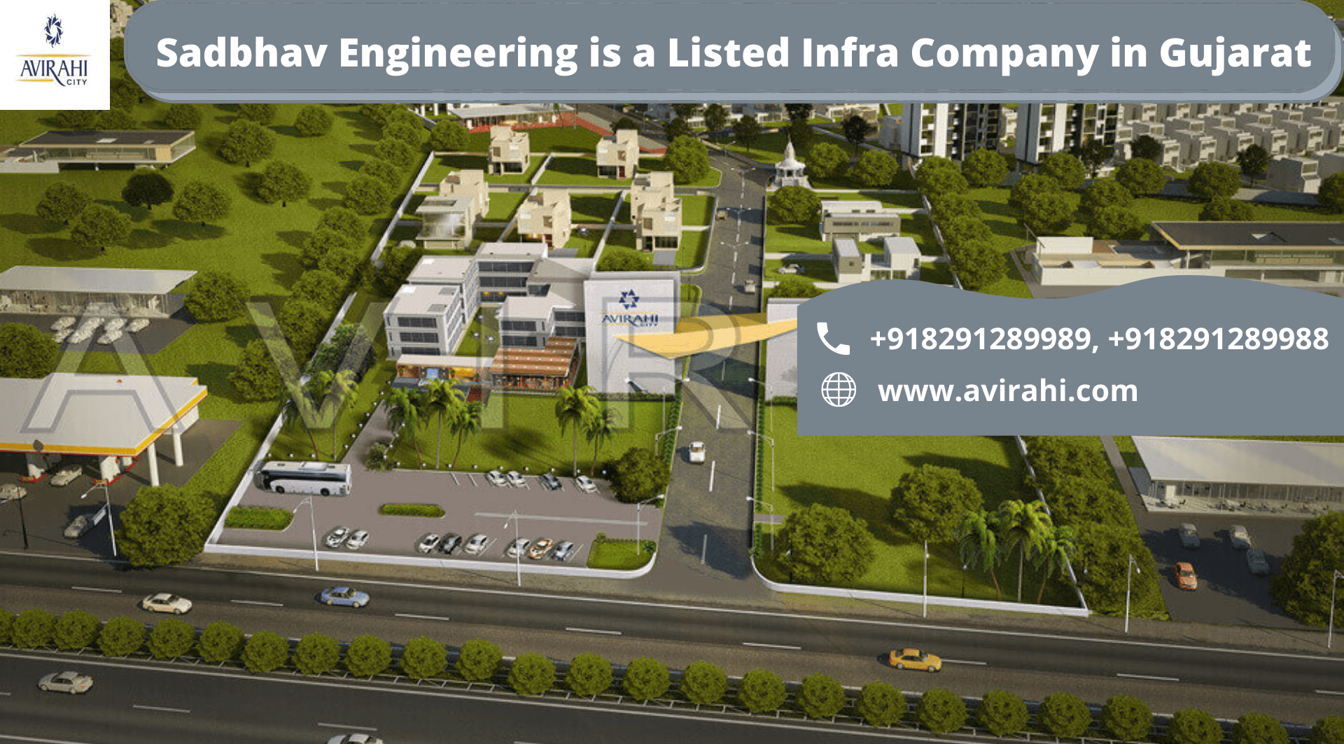 Sadbhav Engineering is a Listed Infra Company in Gujarat