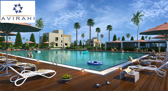 Club House with Swimming Pool Ameneties at Avirahi City