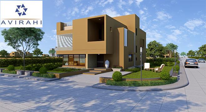 Internal Road and 2-3-4 BHK Villas at Avirahi City