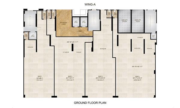 ground floor ( V - 1.3 )