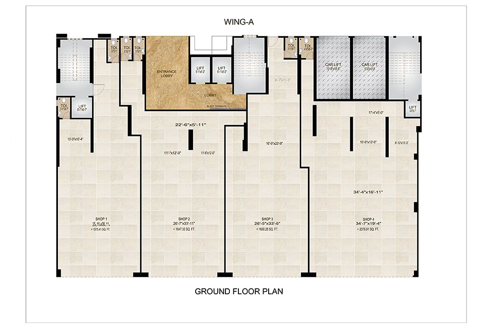 ground floor ( V - 1.3 )