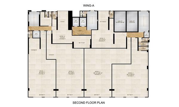 second floor ( V - 1.5 )