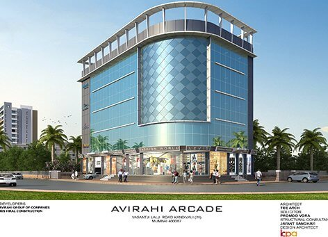 Avirahi Group Ongoing Projects - Avirahi Arcade