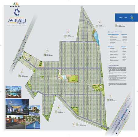 Avirahi Group Ongoing Projects - Avirahi City-  Dholera Sir Residential Plots